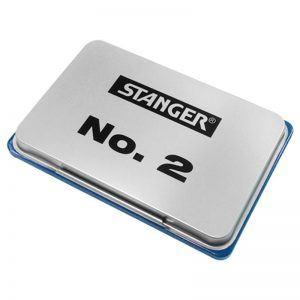 tusiera metal stanger 7x11 cm albastra 8729