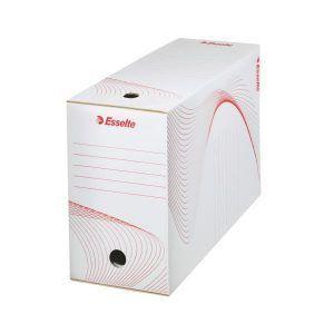 cutie de arhivare din carton alb esselte 352x150x250 mm 9772