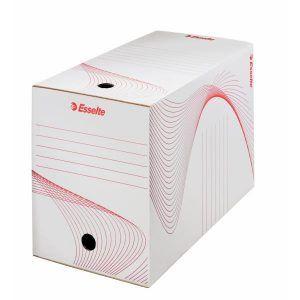 cutie de arhivare din carton alb esselte 352x200x250 mm 9773
