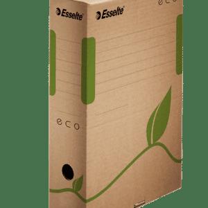 cutie de arhivare din carton natur esselte eco 327x80x233 mm 9782