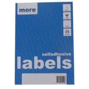 etichete albe autoadezive 10a4 more 105x57 mm 100 colicut 9460