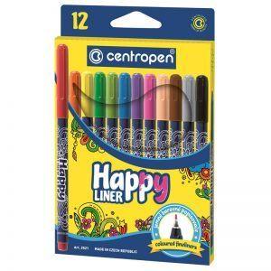 liner 3 mm centropen happy 2521 corp color scriere color 12 buccut 8418