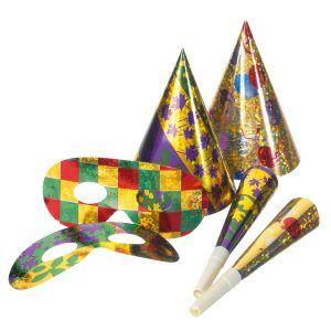 party set culori metalice 18 piese 7799