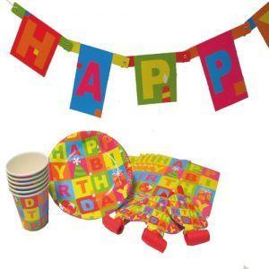 set party happy birthday set 25 piese 7797